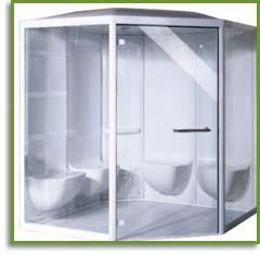 Modular Shower Steam Enclosures