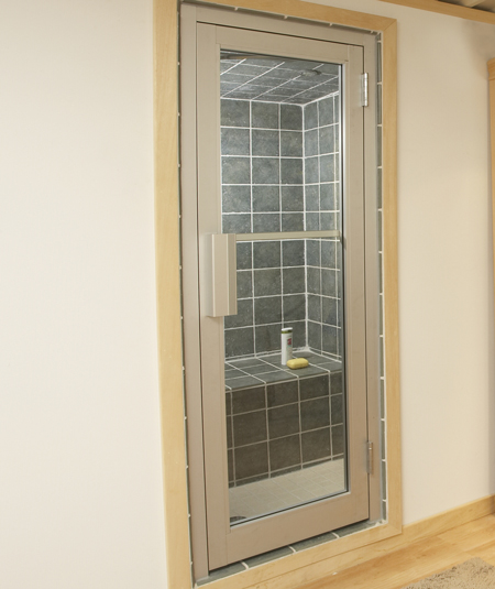 Steam doors for Room door frame