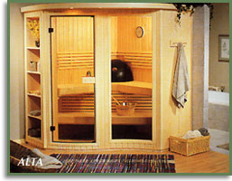 couple in alta sauna