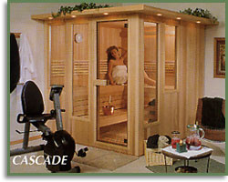 couple in signature series sauna