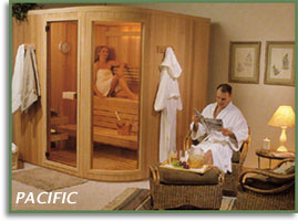 couple in pacific sauna
